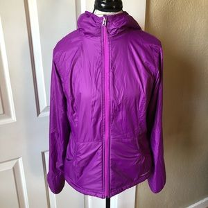 Eddie Bauer Lined Hooded Puffy Coat